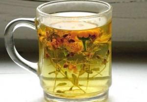 Травяной чай при насморке