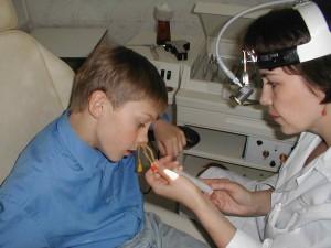 Промывание носа  катетером «Ямик»