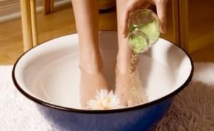 Ножные ванночки с горчицей