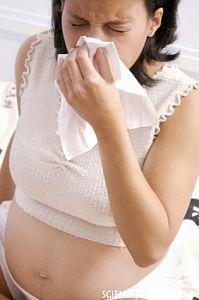 Чиханье при беременности