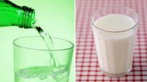 Боржоми и молоко