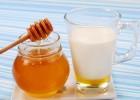 Применение молока с медом от кашля