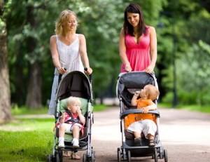 Прогулка с ребенком при насморке