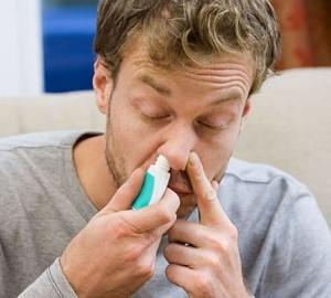 Применение спрея при аллергическом рините