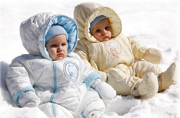 Слишком тепло одетые дети