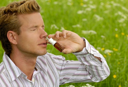Спрей при аллергическом рините