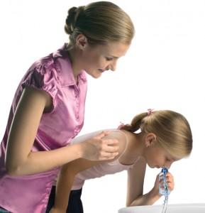 Промывание носовой полости