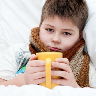 Как лечит горло при лактации